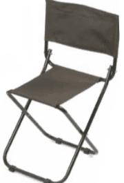 Vouwstoel met rug